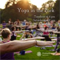 Yoga in the Park - Social Distancing