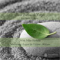 Live Stream - Four Paths of Yoga