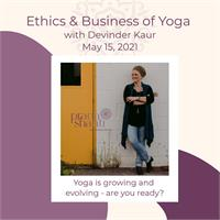 Ethics and Business of Yoga