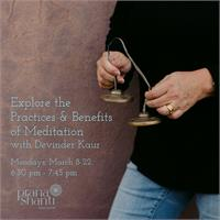 Live Stream - Explore the Practices and Benefits of Meditation