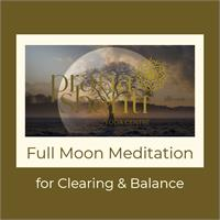 Live Stream - Full Moon Meditation for Clearing & Balance